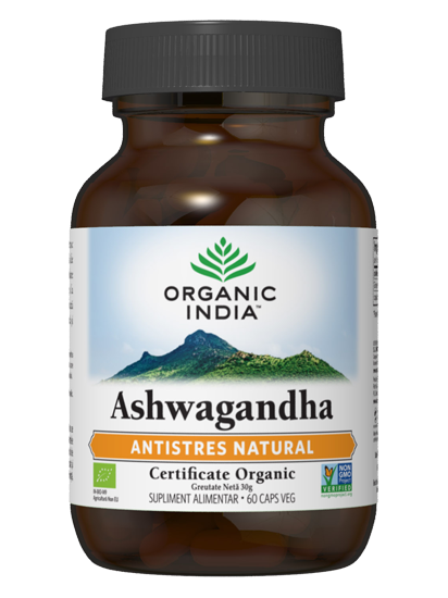 Picture of ORGANIC INDIA Ashwagandha   Antistres Natural