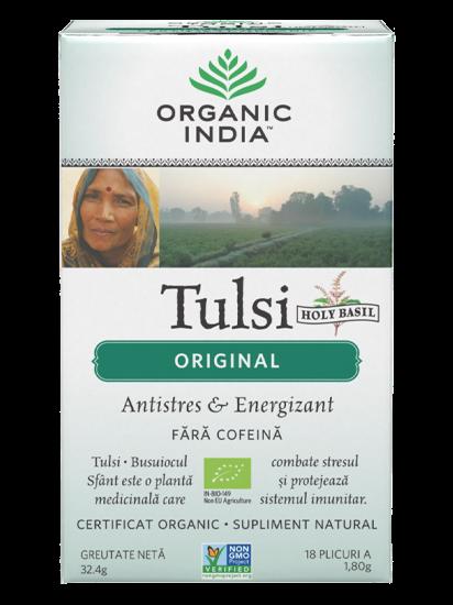 Imagine ORGANIC INDIA | Ceai Tulsi Original