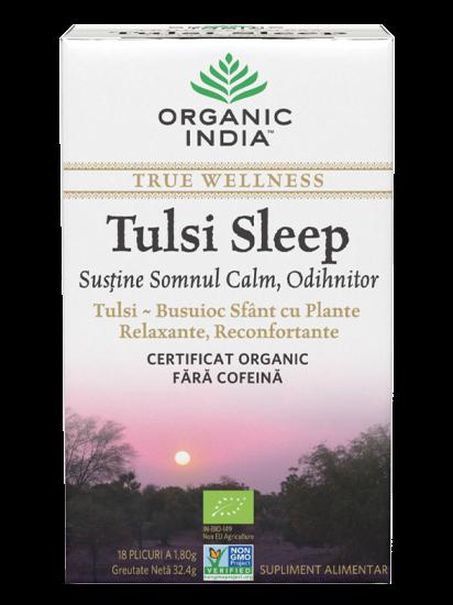 Picture of ORGANIC INDIA Ceai Tulsi Sleep   Pentru Somn, Calm, Odihnitor