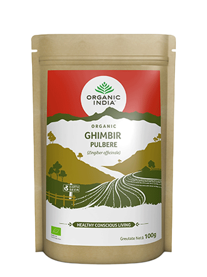 Picture of ORGANIC INDIA Pulbere de Ghimbir Organic, 100g