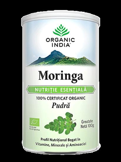 Picture of ORGANIC INDIA Moringa Nutriție Esențială 100% Certificată Organic