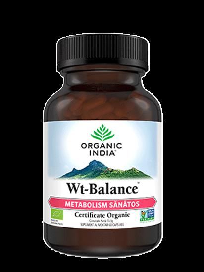 Picture of ORGANIC INDIA WT-Balance Metabolism Sănătos și Controlul Greutății 100% Certificat Organic