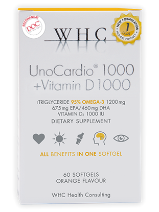 Picture of UnoCardio 1000 + Vitamin D 1000
