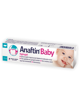 Picture of Gel gingival pentru erupții dentare Anaftin ® Baby-Gel