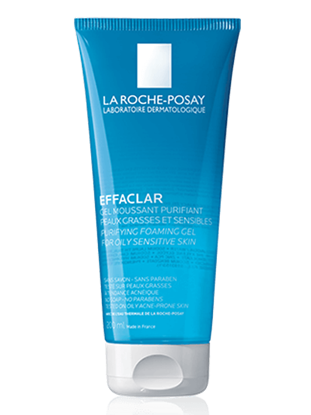 Imagine Gel spumant purifiant pentru piele grasă și sensibilă La Roche-Posay Effaclar
