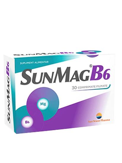 Imagine SunMag B6 cu magneziu și vitamina B6