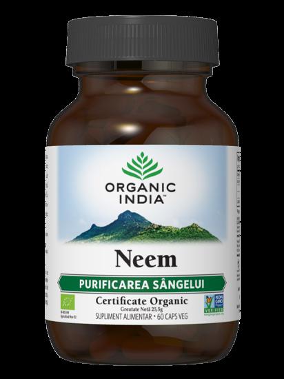 Picture of ORGANIC INDIA Neem | Agent natural împotriva fungilor și bacteriilor